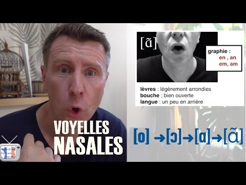 French Pronunciation Les Voyelles Nasales EN IN Free French Phonetic Lesson