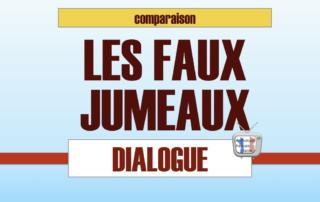 comparatif dialogue en francais facile