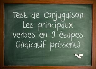 Apprendre français - Test de conjugaison